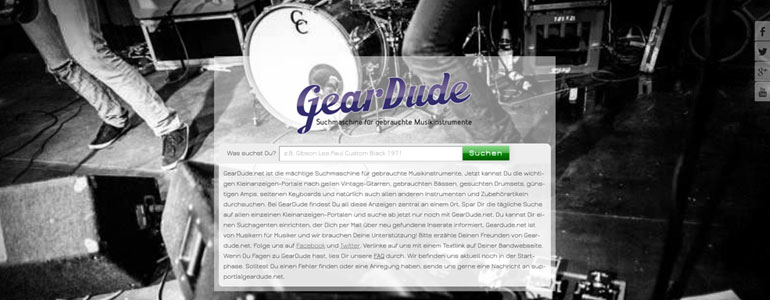 GearDude Screenshot