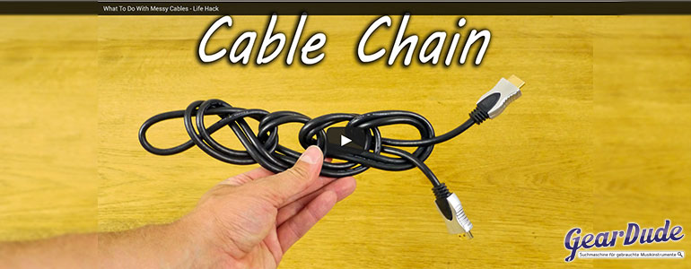 Kabel richtig aufrollen LifeHack