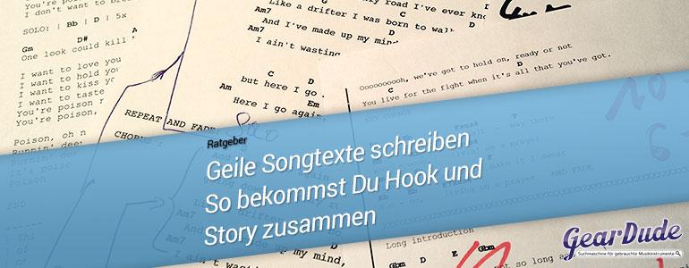 Gute Songtexte schreiben