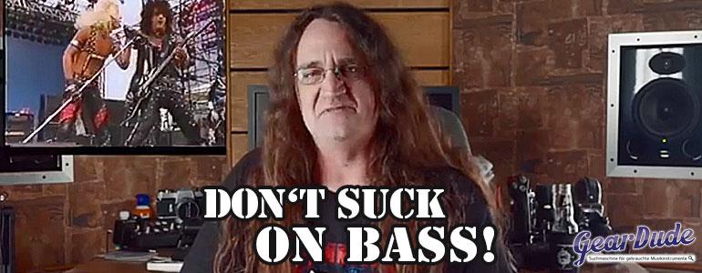 richtig bass spielen