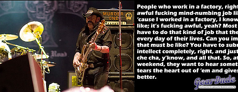 Beste Lemmy Zitate
