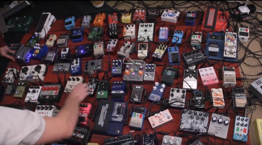 100 Gitarren Effekte Pedale