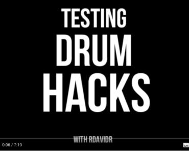 Lifehacks für Schlagzeuger