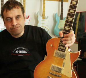 Ludwig Klingelhöfer LKG Guitars
