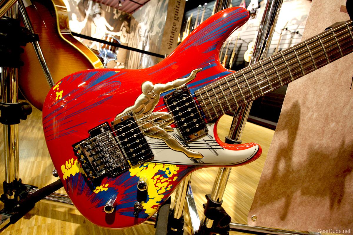 Ibanez Joe Satriani Signature Silversurfer