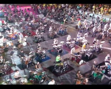 1000 Musiker Cesena Rebel Rebel
