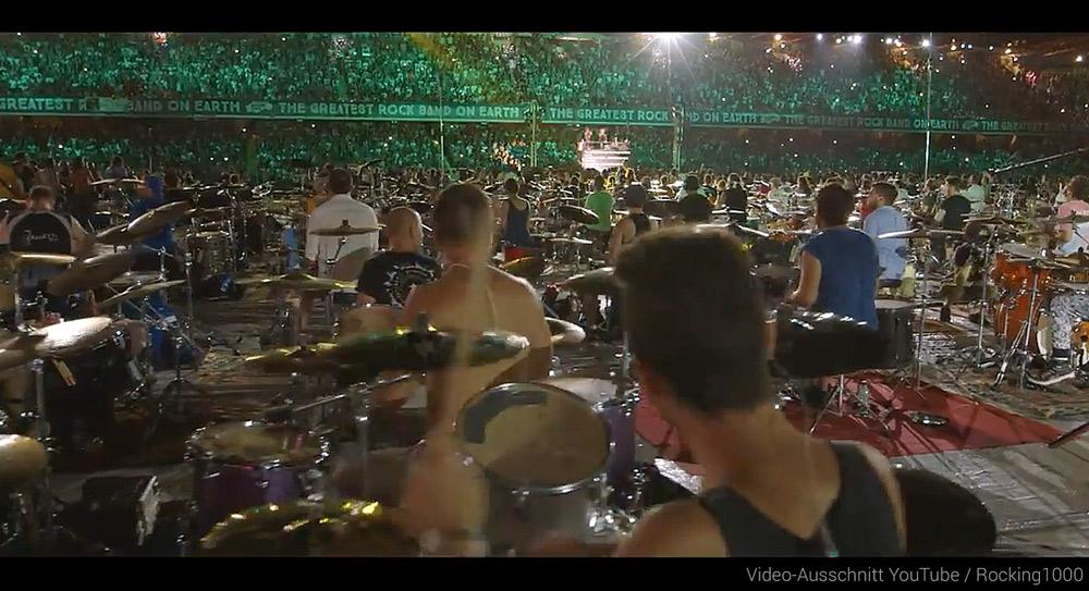 1000 Schlagzeuger
