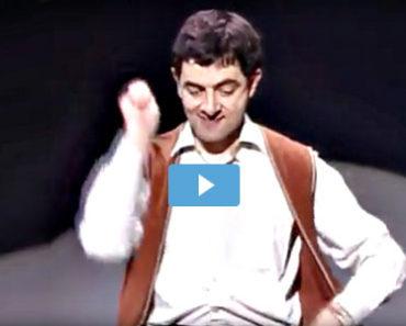 Mr Bean spielt Schlagzeug