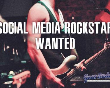 Social Media Rockstar Job